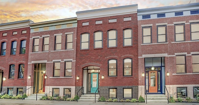 LEED Platinum New Homes for Sale in OTR!