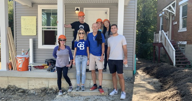 Habitat for Humanity Build in Evanston